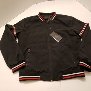 Triumph Over Tragedy Small Black Jacket Mens Size